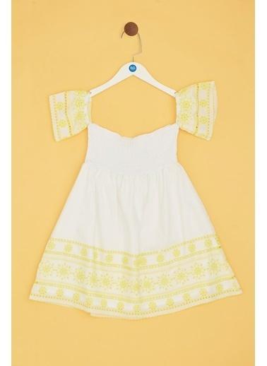 Tyess Elbise Beyaz